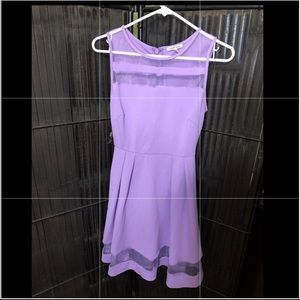 Purple Medium Dress by Charllotte Russe